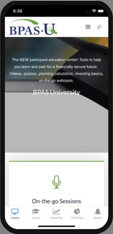 BPAS University App